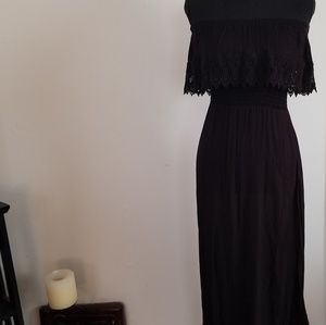 American Rag Black Maxi Dress
